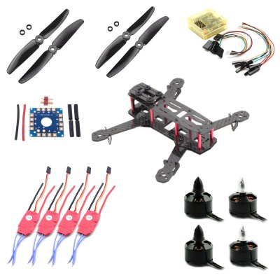 QAV ZMR 250 Carbon Fiber Quadcopter Combo Set