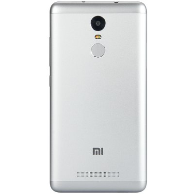 XIAOMI Redmi Note 3 Pro 5.5 inch 4G PhabletCell phones<br>XIAOMI Redmi Note 3 Pro 5.5 inch 4G Phablet<br><br>Brand: XiaoMi<br>Type: 4G Phablet<br>OS: MIUI 8<br>Service Provide: Unlocked<br>Language: Burmese, Arabic, Persian, Hebrew, Korean, Simplified Chinese, Traditional Chinese, Spanish (America), French, Polish, Portuguese (Brazil), Romanian, Vietnamese, Turkish, Odia, Urdu, Bengli, Nepali, T<br>SIM Card Slot: Dual SIM,Dual Standby<br>SIM Card Type: Dual Micro SIM Card<br>CPU: Qualcomm Snapdragon 650 64bit<br>Cores: 1.8GHz,Hexa Core<br>GPU: Adreno 510<br>RAM: 3GB RAM<br>ROM: 32GB<br>External Memory: TF card up to 128GB (not included)<br>Wireless Connectivity: 3G,4G,A-GPS,Bluetooth,GPS,GSM,WiFi<br>WIFI: 802.11b/g/n wireless internet<br>Network type: FDD-LTE+WCDMA+GSM<br>2G: GSM 900/1800/1900MHz<br>3G: WCDMA 850/900/1900/2100MHz CDMA 2000 BC0<br>4G: FDD-LTE 1800/2100/2600MHz<br>Screen type: Capacitive (5-Points)<br>Screen size: 5.5 inch<br>Screen resolution: 1920 x 1080 (FHD)<br>Pixels Per Inch (PPI): 403<br>Camera type: Dual cameras (one front one back)<br>Back camera: 16.0MP,with flash light and AF<br>Front camera: 5.0MP<br>Video recording: Yes<br>Aperture: f/2.0<br>Auto Focus: Yes<br>Flashlight: Yes<br>Camera Functions: Face Beauty,Face Detection,HDR,Panorama Shot<br>Picture format: BMP,GIF,JPEG,PNG<br>Music format: AAC,AMR,MP3,WAV<br>Video format: ASF,MKV,MP4<br>MS Office format: Excel,PPT,Word<br>E-book format: PDF,TXT<br>I/O Interface: 2 x Micro SIM Card Slot,3.5mm Audio Out Port,Micro USB Slot<br>Sensor: Ambient Light Sensor,E-Compass,Gravity Sensor,Gyroscope,Hall Sensor,Proximity Sensor<br>Notification LED: Yes<br>Additional Features: 4G,Bluetooth,Browser,Calendar,E-book,Fingerprint recognition,GPS,MP3,MP4,People,Video Call,Wi-Fi<br>Battery Capacity (mAh): 4000mAh Built-in Battery<br>Battery Type: Lithium-ion Polymer Battery<br>Cell Phone: 1<br>Power Adapter: 1<br>USB Cable: 1<br>SIM Needle: 1<br>Product size: 15.00 x 7.60 x 0.87 cm / 5.91 x 2.99 x 0.34 inc
