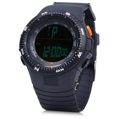 Skmei 0989 Green LED Sports Watch for Unisex