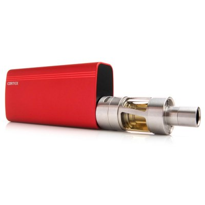 Innokin CORTEX TC 80W Box Mod E Cigarette KitMod kits<br>Innokin CORTEX TC 80W Box Mod E Cigarette Kit<br><br>APV Mod Wattage: 80W<br>APV Mod Wattage Range: 51-100W<br>Atomizer Capacity: 4.5ml<br>Atomizer Resistance: 0.1ohm / 0.5ohm<br>Atomizer Type: Clearomizer<br>Available Color: Red,Blue,Silver,Black<br>Battery Capacity: 3300mAh<br>Brand: Innokin<br>Charge way: USB<br>Connection Threading of Atomizer: 510<br>Connection Threading of Battery: 510<br>Material: Stainless Steel<br>Mod Type: Temperature Control Mod, VV/VW Mod<br>Model: CORTEX<br>Package Contents: 1 x Innokin CORTEX TC 80W Box Mod ( 3300mAh ), 1 x Innokin CORTEX Clearomizer ( 0.1ohm Pre-installed Ni200 Coil ), 1 x Extra iSub Coil ( 0.5ohm ), 1 x Extra iSub BVC Clapton Coil ( 0.5ohm ), 1 x Extra<br>Package size (L x W x H): 5.400 x 6.600 x 12.500 cm / 2.126 x 2.598 x 4.921 inches<br>Package weight: 0.420 kg<br>Product size (L x W x H): 2.400 x 4.600 x 15.500 cm / 0.945 x 1.811 x 6.102 inches<br>Product weight: 0.230 kg<br>Style: Rechargeable<br>Type: Mod Kit