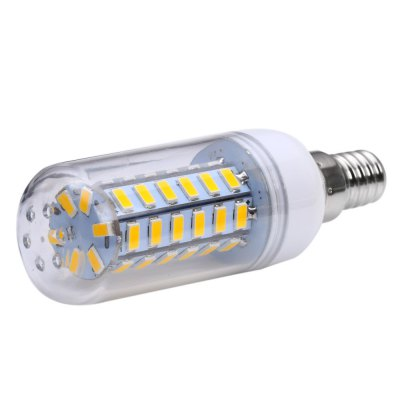 10 x SZFC 5W E14 SMD 5730 460LM LED Corn BulbCorn Bulbs<br>10 x SZFC 5W E14 SMD 5730 460LM LED Corn Bulb<br><br>Available Light Color: White,Warm White<br>Brand: SZFC<br>CCT/Wavelength: 3000K,6000K<br>Emitter Types: SMD 5730<br>Features: 80% Brightness, Long Life Expectancy, Energy Saving<br>Function: Studio and Exhibition Lighting, Commercial Lighting, Home Lighting<br>Holder: E14<br>Luminous Flux: 460LM<br>Output Power: 5W<br>Package Contents: 10 x SZFC E14 LED Corn Bulb<br>Package size (L x W x H): 10.500 x 12.800 x 9.600 cm / 4.134 x 5.039 x 3.78 inches<br>Package weight: 0.360 KG<br>Product size (L x W x H): 9.500 x 3.000 x 3.000 cm / 3.74 x 1.181 x 1.181 inches<br>Product weight: 0.028KG<br>Sheathing Material: PC<br>Total Emitters: 48<br>Type: Corn Bulbs<br>Voltage (V): AC 110-140V