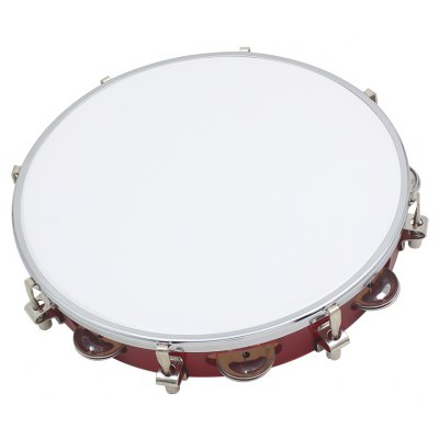 Hand Held Tambourine Drum Bell Children Music Accomplishment Training