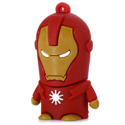32GB Iron Man USB 2.0 Flash Disk Stick / Flash Memory Drive