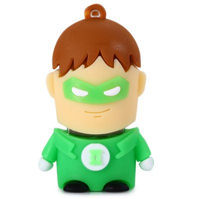 8GB Green Lantern USB 2.0 Stick / Flash Memory DriveUSB Flash Drives<br>8GB Green Lantern USB 2.0 Stick / Flash Memory Drive<br><br>Capacity: 8G<br>Type: USB Stick<br>Features: Cartoon,Dustproof<br>Available color: Green<br>Style: Cartoon<br>Interface: USB 2.0<br>Product weight: 0.009 kg<br>Package weight: 0.049 kg<br>Product size (L x W x H): 4.500 x 2.900 x 1.800 cm / 1.772 x 1.142 x 0.709 inches<br>Package size (L x W x H): 5.500 x 3.900 x 2.800 cm / 2.165 x 1.535 x 1.102 inches<br>Package Contents: 1 x 8GB Green Lantern USB 2.0 Stick
