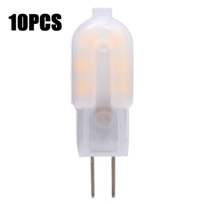 10 x G4 2W SMD 2835 200Lm Frosted LED Capsule Bulb