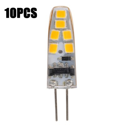 10pcs SZFC G4 1W 12 x SMD 2835 150Lm LED Corn Light