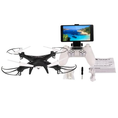 SJ X300 - 1CW 2.4GHz 6 Axis Gyro RC Quadcopter WIFI Version
