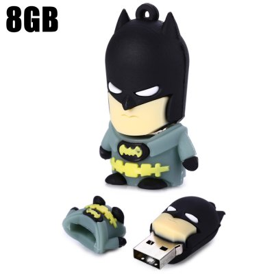 8GB Yellow Belt Batman USB 2.0 Stick / Flash Memory Drive