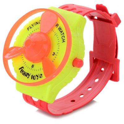 Maikou Plastic Spinning Watch Creative Flying Saucer Funny Toy
