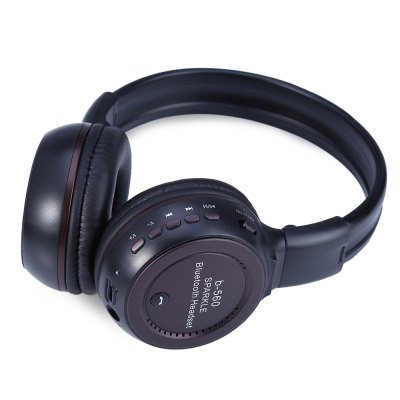 Zealot B560 Wireless Stereo Bluetooth V4.0 Headset EarphoneBluetooth Headphones<br>Zealot B560 Wireless Stereo Bluetooth V4.0 Headset Earphone<br><br>Brand: Zealot<br>Model: B560<br>Wearing type : Headband<br>Function: MP3 player,Microphone,FM function,Noise Cancelling,Answering Phone,Song Switching,Voice control,Bluetooth<br>Connectivity : Wired and Wireless<br>Connecting interface : Micro USB<br>Application: Mobile phone,Computer<br>Plug Type: 3.5mm<br>Cable Length (m): 1.5 m<br>Driver unit: 40mm<br>Sound channel: Two-channel (stereo)<br>Frequency response: 20~22000Hz<br>Impedance: 32ohms<br>Sensitivity: More than 85dB<br>Talk time: 8 hours<br>Music Time: 6-8 hours<br>Charging time: 1-2 hours<br>FM radio: Yes<br>FM frequency range: 87~108MHz<br>Bluetooth: Yes<br>Bluetooth version: V4.0<br>Bluetooth distance: W/O obstacles 10m<br>External memory: TF card,Micro SD Card<br>Max. of External memory: 32GB<br>Product weight: 0.190 kg<br>Package weight: 0.352 kg<br>Package size (L x W x H): 14.500 x 9.000 x 17.000 cm / 5.709 x 3.543 x 6.693 inches<br>Package Contents: 1 x Zealot B560 Wireless Stereo Bluetooth V4.0 Headset Earphone, 1 x USB Cable, 1 x 3.5mm Audio Cable