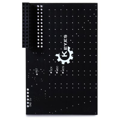 Practical 126 - LEDs Display Pi Lite Matrix Plate Board Works with Raspberry Pi  -  Red Light