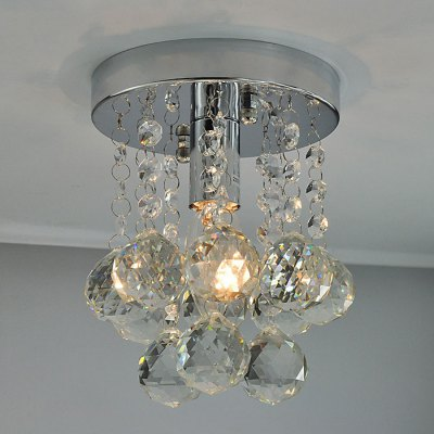 LightMyself Crystal Pendant Lamp ChandelierPendant Lights<br>LightMyself Crystal Pendant Lamp Chandelier<br><br>Type: Ceiling Lights<br>Brand: LightMyself<br>Voltage (V): AC 220-240,AC 110-120V<br>Product weight: 1.300 kg<br>Package weight: 1.700 kg<br>Product size (L x W x H): 15.000 x 15.000 x 21.000 cm / 5.906 x 5.906 x 8.268 inches<br>Package size (L x W x H): 20.000 x 20.000 x 17.000 cm / 7.874 x 7.874 x 6.693 inches<br>Package Contents: 1 x LightMyself Pendant Lamp