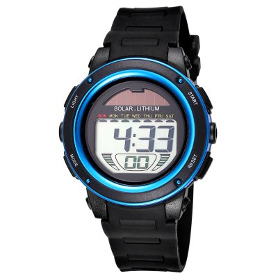 Skmei 3713 Solar Power LED Watch