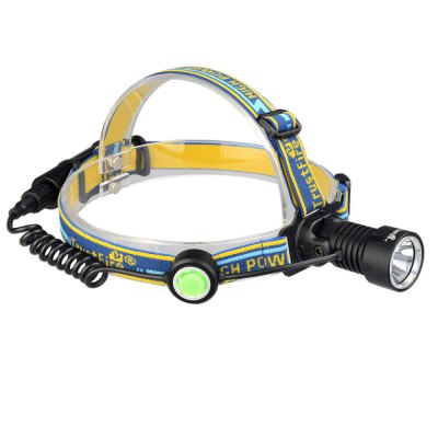 Trustfire H2 Cree XM - L2 420LM Outdoor LED Headlamp PackHeadlights<br>Trustfire H2 Cree XM - L2 420LM Outdoor LED Headlamp Pack<br><br>Headlight brand: Trustfire<br>Model: H2<br>Function: Camping,Hiking,Walking,Night Riding,Household Use,EDC<br>Feature: Can be used as headlamp or bicycle light<br>Luminous Flux: 420LM<br>Peak Beam Intensity: 3800cd<br>Color Temperature: 6500-7000K<br>Main Lamp Beads: Cree XM-L2<br>Beads Number: 1<br>Mode: 3 (High; Low; Strobe)<br>Switch Type: Clicky<br>Battery Type: 18650<br>Battery Quantity: 1 x 18650 battery (not included)<br>Power Source: Battery<br>Reflector: Aluminum Smooth Reflector<br>Lens: Glass Lens<br>Beam Distance: 155m<br>Working Time: 145h<br>Impact Resistance: 1M<br>Beam Angle: 110 degree<br>Waterproof: IPX-4<br>Available Light Color: Cool White<br>Color: Black<br>Body Material: Aircraft-grade Aluminum Alloy<br>Product weight: 0.169 kg<br>Package weight: 0.416 kg<br>Product size (L x W x H): 7.100 x 3.400 x 3.400 cm / 2.795 x 1.339 x 1.339 inches<br>Package size (L x W x H): 23.000 x 21.000 x 20.000 cm / 9.055 x 8.268 x 7.874 inches<br>Package Contents: 1 x Trustfire H2 Headlamp, 1 x 18650 Battery, 1 x TR-002 Battery Charger, 1 x US Plug Cable, 2 x O-ring, 1 x Lubricating Oil