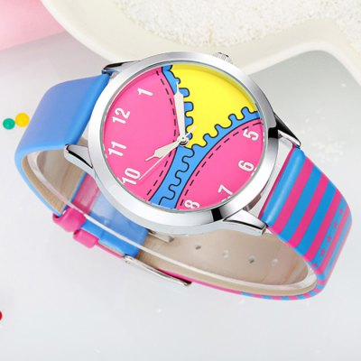 KEZZI K-1225 Japan Quartz Cartoon Zipper Pattern Ladies WatchWomens Watches<br>KEZZI K-1225 Japan Quartz Cartoon Zipper Pattern Ladies Watch<br><br>Brand: Kezzi<br>Watches categories: Female table<br>Available color: Red,Blue,Rose,Black,White<br>Style: Fashion&amp;Casual<br>Movement type: Quartz watch<br>Shape of the dial: Round<br>Display type: Analog<br>Case material: Alloy<br>Band material: PU<br>Clasp type: Pin buckle<br>The dial thickness: 1.2 cm / 0.47 inches<br>The dial diameter: 3.9 cm / 1.54 inches<br>The band width: 1.7 cm / 0.67 inches<br>Product weight: 0.045 kg<br>Package weight: 0.075 kg<br>Product size (L x W x H): 22.000 x 3.900 x 1.200 cm / 8.661 x 1.535 x 0.472 inches<br>Package size (L x W x H): 23.000 x 4.900 x 2.200 cm / 9.055 x 1.929 x 0.866 inches<br>Package Contents: 1 x KEZZI Female Watch
