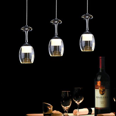 LightMyself 3W 250LM Pendant Lamp with Goblet Shape