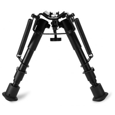 Adjustable 6 to 9 Inch Legs Sniper Hunting Riflescope Bipod