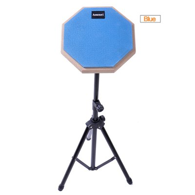 Asanasi Rubber Dumb Drum Kit with Stand / Stick - 8 inch от GearBest.com INT