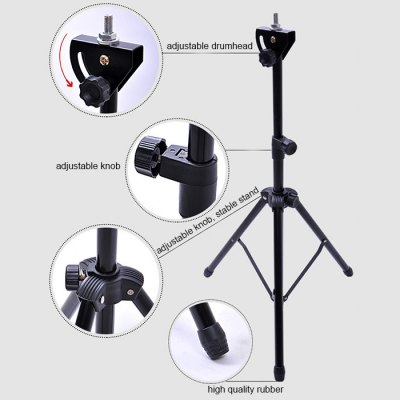 Asanasi Rubber Dumb Drum Kit with Stand / Stick - 8 inchDrums &amp; Percussion<br>Asanasi Rubber Dumb Drum Kit with Stand / Stick - 8 inch<br><br>Type: Drum<br>Package weight: 1.850 kg<br>Package size: 21.000 x 21.000 x 10.000 cm / 8.268 x 8.268 x 3.937 inches<br>Package Contents: 1 x 8-inch Dumb Drum Set