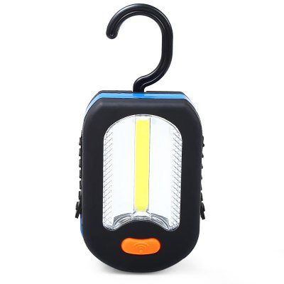 X2 - 6618 350Lm COB Camping LED FlashlightLED Flashlights<br>X2 - 6618 350Lm COB Camping LED Flashlight<br><br>Lamp Beads: COB<br>Beads Number: 1<br>Lumens Range: 200-500Lumens<br>Luminous Flux: 350LM<br>Circuitry: 5500-6500K<br>Switch Type: Clicky<br>Feature: Lightweight<br>Function: Camping,Hiking,Walking,Night Riding,Household Use,EDC<br>Battery Type: AAA<br>Battery Quantity: 3 x AAA batetry (not included)<br>Mode: 2(Main Light; Side Light)<br>Power Source: Battery<br>Reflector: No<br>Lens: Plastic Lens<br>Body Material: PC<br>Available Light Color: White<br>Available color: Black<br>Product weight: 0.083 kg<br>Package weight: 0.104 kg<br>Product size (L x W x H): 6.000 x 9.000 x 3.000 cm / 2.362 x 3.543 x 1.181 inches<br>Package size (L x W x H): 7.000 x 10.000 x 4.000 cm / 2.756 x 3.937 x 1.575 inches<br>Package Contents: 1 x LED Camping Light