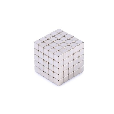 5mm Magnetic Cube Intelligent Toy Gift for Kids 125Pcs / Set