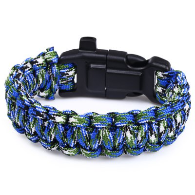 4pcs 5 Functions in 1 Outdoor Survival Paracord BraceletSurvival Bracelet<br>4pcs 5 Functions in 1 Outdoor Survival Paracord Bracelet<br><br>Color: As Picture Show<br>Material: Parachute Cord<br>Buckle Material: Plastic<br>Secure Buckle Type: Snap Buckle<br>Extra Functions: Whistle,Fire Starter,Compass<br>Bracelet Length: 24.5 cm<br>Bracelet Width: 2.0 cm<br>Rope Diameter: 0.4 cm<br>Best Use: Adventures,Lashings,First Aid,Mountaineering,Climbing,Camping,Backpacking,Hiking<br>Product weight: 0.023 kg<br>Package weight: 0.120 kg<br>Product Dimension: 24.500 x 3.000 x 1.500 cm / 9.646 x 1.181 x 0.591 inches<br>Package Dimension: 26.000 x 9.000 x 7.000 cm / 10.236 x 3.543 x 2.756 inches<br>Package Contents: 1 x 4pcs 5 in 1 Outdoor Survival Paracord Bracelet