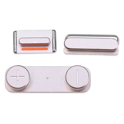 Power On Off Lock Volume Switch Mute Silent Key for iPhone 5SPhone Button<br>Power On Off Lock Volume Switch Mute Silent Key for iPhone 5S<br><br>Compatibility: iPhone 5S<br>Color: Gold,Gray<br>Product weight: 0.001 kg<br>Package weight: 0.022 kg<br>Package size (L x W x H): 6.000 x 4.000 x 0.200 cm / 2.362 x 1.575 x 0.079 inches<br>Package Contents: 1 x Side Button Kit