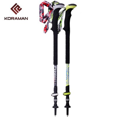 PIONEER Three Sections Alpenstock Detachable Hand StrapTrekking Poles<br>PIONEER Three Sections Alpenstock Detachable Hand Strap<br><br>Brand: PIONEER<br>Adjustable height: 65 - 135cm<br>Color: Red,Green<br>Product weight: 0.200 kg<br>Package weight: 0.300 kg<br>Product size: 135.000 x 5.000 x 4.000 cm / 53.150 x 1.969 x 1.575 inches<br>Package size (L x W x H): 65.000 x 6.000 x 6.000 cm / 25.591 x 2.362 x 2.362 inches<br>Package Contents: 1 x PIONEER Three Sections Alpenstock