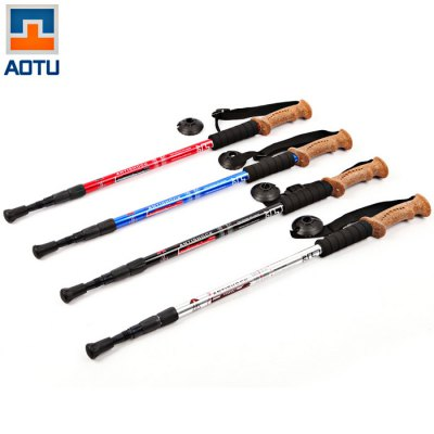 AOTU Three Sections Alpenstock Aluminum Alloy Made
