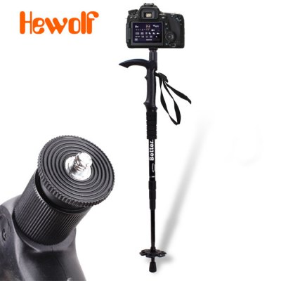Hewolf Multi-purpose Four Sections Folding AlpenstockTrekking Poles<br>Hewolf Multi-purpose Four Sections Folding Alpenstock<br><br>Brand: Hewolf<br>Adjustable height: 58 - 116cm<br>Color: Red,Silver,Black<br>Product weight: 0.400 kg<br>Package weight: 0.480 kg<br>Product size: 116.000 x 14.000 x 4.000 cm / 45.669 x 5.512 x 1.575 inches<br>Package size (L x W x H): 59.000 x 15.000 x 5.000 cm / 23.228 x 5.906 x 1.969 inches<br>Package Contents: 1 x Hewolf Multi-purpose Four Sections Alpenstock, 1 x Snow Bracket