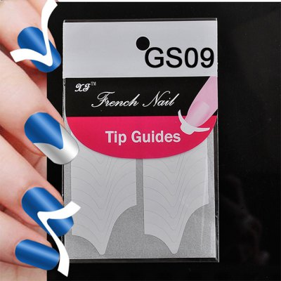 GS09 Stylish Nail Art Tips Finger Stickers