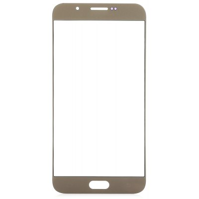 Outer Glass Screen Lens Cover with Repair Tools for Samsung A8