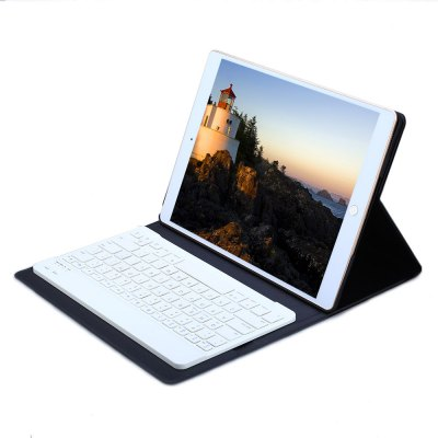 Bluetooth Keyboard Case Leather Cover for iPad Pro