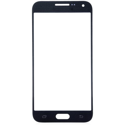 Outer Glass Screen Lens Cover with Repair Tools for Samsung E5