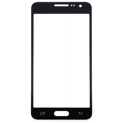 Outer Glass Screen Lens Cover with Repair Tools for Samsung A3