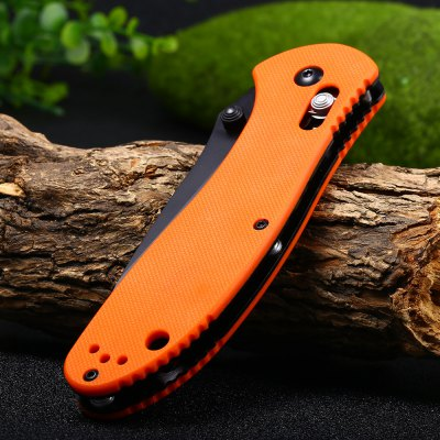 Ganzo G7393-OR Axis Lock Pocket Knife