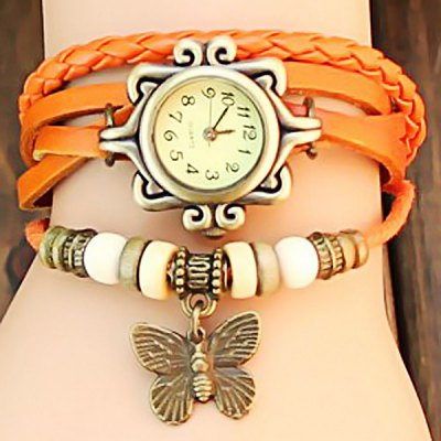 Women Retro Bracelet Watch