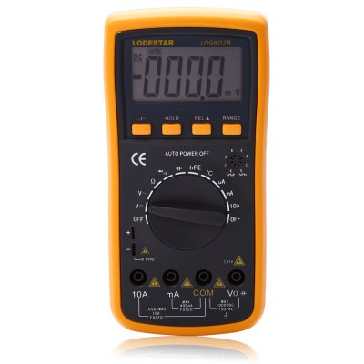 ФОТО LODESTAR LD9807B Digital Multimeter