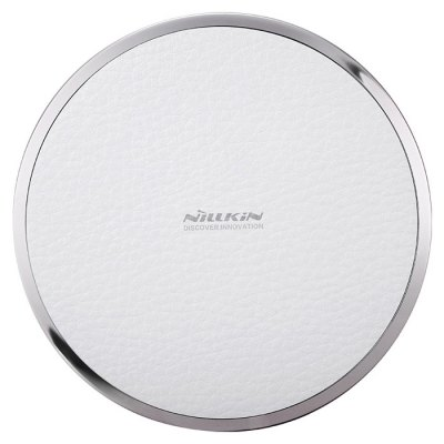 Nillkin Magic Disk Third Generation Qi Wireless Charger TransmitterSamsung Chargers<br>Nillkin Magic Disk Third Generation Qi Wireless Charger Transmitter<br><br>Brand: Nillkin<br>Type: Wireless Chargers<br>Model: Magic Disk Third Generation<br>Compatibility: Galaxy Note 3 N9000,iPhone 6,iPhone 6 Plus,iPhone 6S,iPhone 6S Plus,Motorola,Samsung Galaxy S5,Samsung Note 5,Samsung S6,Samsung S6 Edge Plus<br>Connection Type: Micro USB<br>Color: Black,Brown,White<br>Material: Metal,PU Leather<br>Charging efficiency: More than 70 percent<br>Input: DC 5V / 2A<br>Output: 5V / 1A<br>Product weight: 0.069 kg<br>Package weight: 0.130 kg<br>Product size (L x W x H): 10.50 x 10.50 x 1.40 cm / 4.13 x 4.13 x 0.55 inches<br>Package size (L x W x H): 14.10 x 14.10 x 3.10 cm / 5.55 x 5.55 x 1.22 inches<br>Package Contents: 1 x Wireless Charger, 1 x USB Cable, 1 x English / Chinese User Manual