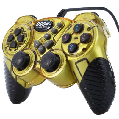 Universal USB Double Shock Gamepad Game Controller