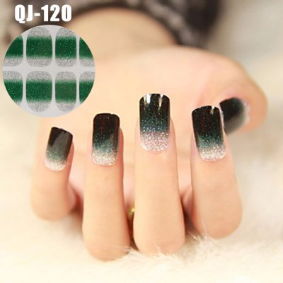 QJ120 Gradient Glitter Texture Series 3D Nail StickerNail Sticker<br>QJ120 Gradient Glitter Texture Series 3D Nail Sticker<br><br>Type: Glitter<br>Product weight: 0.015 kg<br>Package weight: 0.065 kg<br>Product size (L x W x H): 15.000 x 7.500 x 0.100 cm / 5.906 x 2.953 x 0.039 inches<br>Package size (L x W x H): 18.000 x 9.000 x 1.000 cm / 7.087 x 3.543 x 0.394 inches<br>Package Contents: 1 x Nail Sticker
