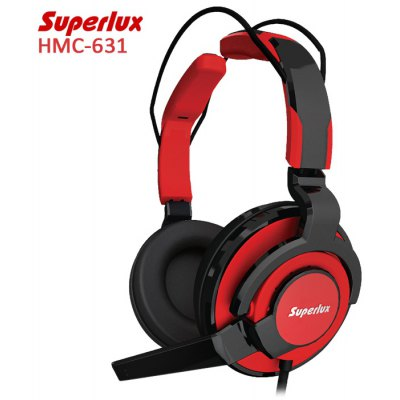 Superlux HMC-631 Professional-grade Gaming Headset with Mic