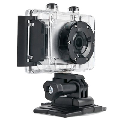 iShare S200 1080P 5MP 140 Degree FHD Action Camera Car DVR
