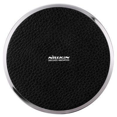 Nillkin Magic Disk Third Generation Qi Wireless Charger TransmitterChargers &amp; Cables<br>Nillkin Magic Disk Third Generation Qi Wireless Charger Transmitter<br><br>Brand: Nillkin<br>Charging efficiency: More than 70 percent<br>Color: Black,Brown,White<br>Connection Type: Micro USB<br>Input: DC 5V / 2A, DC 9V / 1.7A<br>Mainly Compatible with: Samsung S6 Edge Plus, Samsung S6, Samsung Note 5, Samsung Galaxy S5, Motorola, iPhone 6S Plus, iPhone 6S, iPhone 6 Plus, iPhone 6, Galaxy Note 3 N9000<br>Material: Metal, PU Leather<br>Model: Magic Disk Third Generation<br>Output: 10W ( Max )<br>Package Contents: 1 x Wireless Charger, 1 x USB Cable, 1 x English / Chinese User Manual<br>Package size (L x W x H): 14.10 x 14.10 x 3.10 cm / 5.55 x 5.55 x 1.22 inches<br>Package weight: 0.1800 kg<br>Product size (L x W x H): 10.50 x 10.50 x 1.40 cm / 4.13 x 4.13 x 0.55 inches<br>Product weight: 0.0690 kg<br>Type: Wireless Chargers