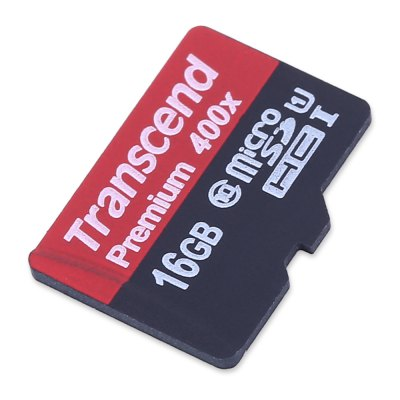 Transcend 16GB Micro SDHC UHS-1 Memory Card
