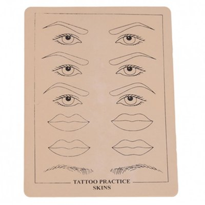 P002 Eyebrow Lip Picture Tattoo Simulation Practice Skin Vivid Exercise ToolOther Tools<br>P002 Eyebrow Lip Picture Tattoo Simulation Practice Skin Vivid Exercise Tool<br><br>Model: P002<br>Color: Yellow<br>Special Functions : Practicing<br>Product weight: 0.044KG<br>Package weight: 0.064 KG<br>Product size (L x W x H): 20.000 x 15.000 x 0.100 cm / 7.874 x 5.906 x 0.039 inches<br>Package size (L x W x H): 21.000 x 16.000 x 1.100 cm / 8.268 x 6.299 x 0.433 inches<br>Package Contents: 1 x P002 Eyebrow Lip Picture Tattoo Simulation Practice Skin