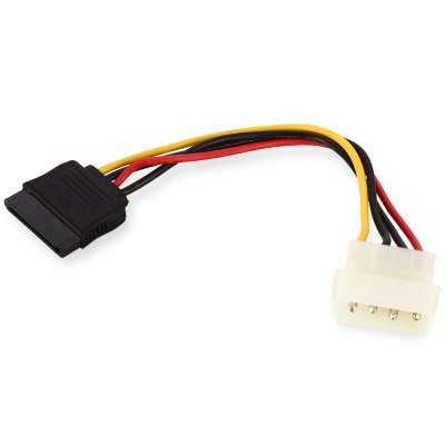 4 Pin IDE to SATA Power Adapter Cable