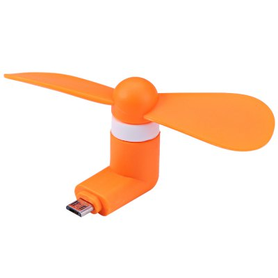 Micro 5 Pin Mini USB Fan for Android Smart PhonesChargers &amp; Cables<br>Micro 5 Pin Mini USB Fan for Android Smart Phones<br><br>Color: Blue,Green,Orange,Pink,Black,White<br>Material: Plastic<br>Product weight: 0.016 kg<br>Package weight: 0.030 kg<br>Product size (L x W x H): 8.800 x 3.800 x 3.500 cm / 3.465 x 1.496 x 1.378 inches<br>Package size (L x W x H): 13.500 x 8.000 x 4.000 cm / 5.315 x 3.150 x 1.575 inches<br>Package Contents: 1 x Micro 5Pin Mini USB Fan for Android Cell Phones