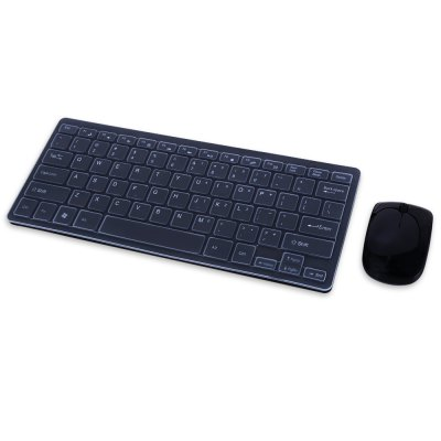 HK3800 2.4G Wireless Keyboard / Mouse Combo ABS Computer Peripheral