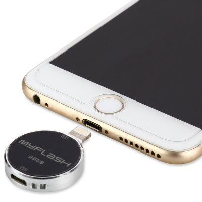 Round Shape 32GB 8Pin Micro USB Flash Drive